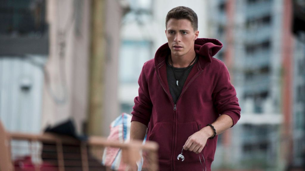 Colton Haynes es Roy Harper (Arsenal) en 'Arrow'