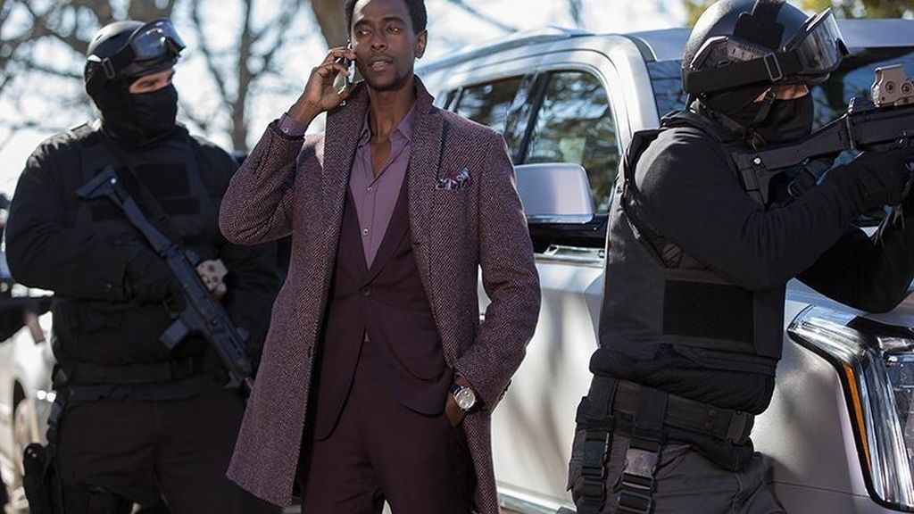 Edi Gathegi es Matias Solomon, archienemigo de Tom Keen en 'The blacklist: Redemption'