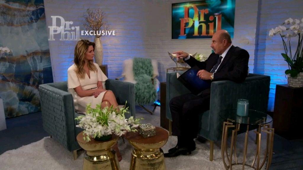 Dr. Phil y actriz Mischa Barton