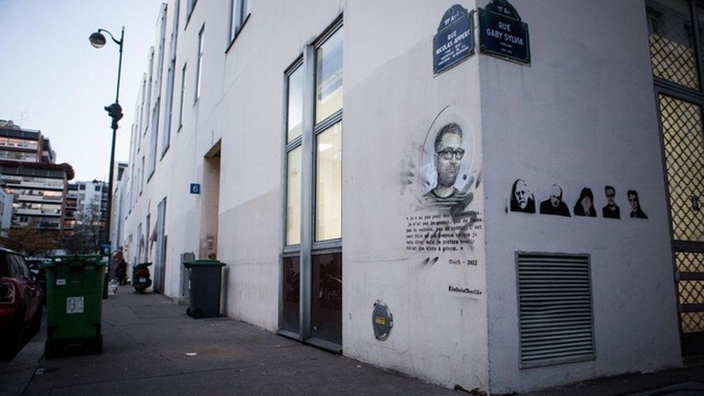 Sede de 'Charlie Hebdo'