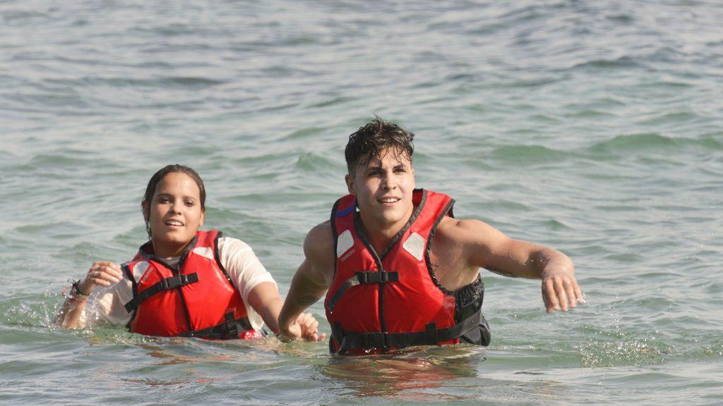 Gloria Camila y Kiko, concursantes de 'Supervivientes' en Telecinco