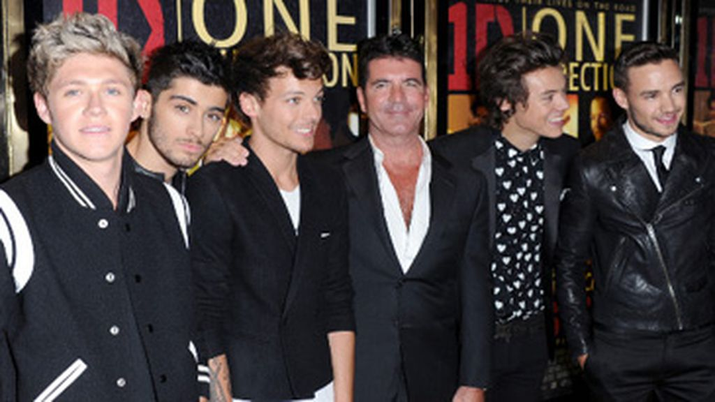 One Direction y Simon Cowell
