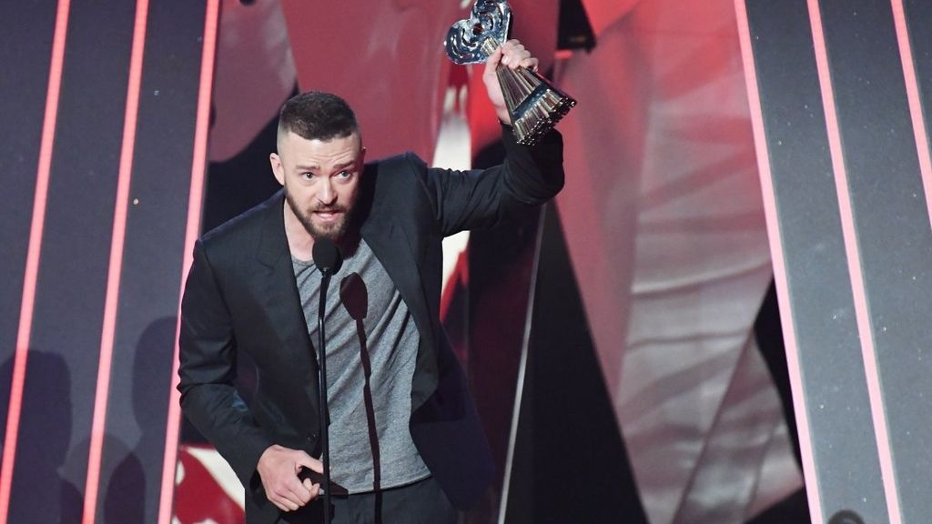 Justin Timberlake en los iHeartRadio Music Awards