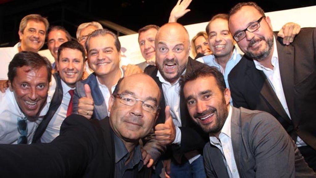 'Selfie' de la COPE en la presentación de la temporada 2014-2015