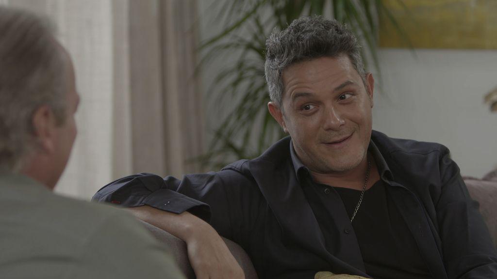 Alejandro Sanz, invitado de Bertín Osborne