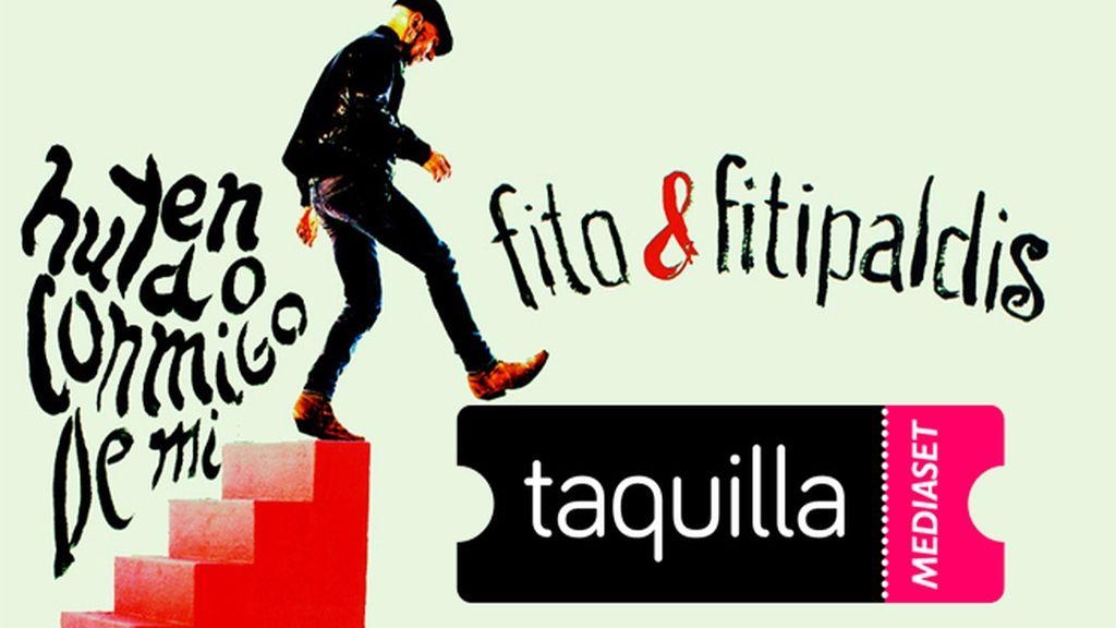 Fito & Fitipaldis, gira segunda parte de 'Huyendo conmigo de mí' comprar entradas taquilla mediaset