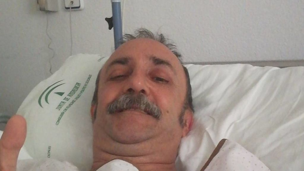 Santi Rodríguez, ingresado por un infarto
