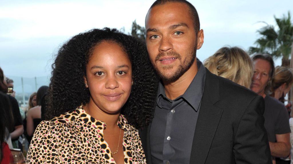 El actor de 'Anatomía de Grey' Jesse Williams (doctor Jackson Avery) y su mujer Aryn Drake-Lee