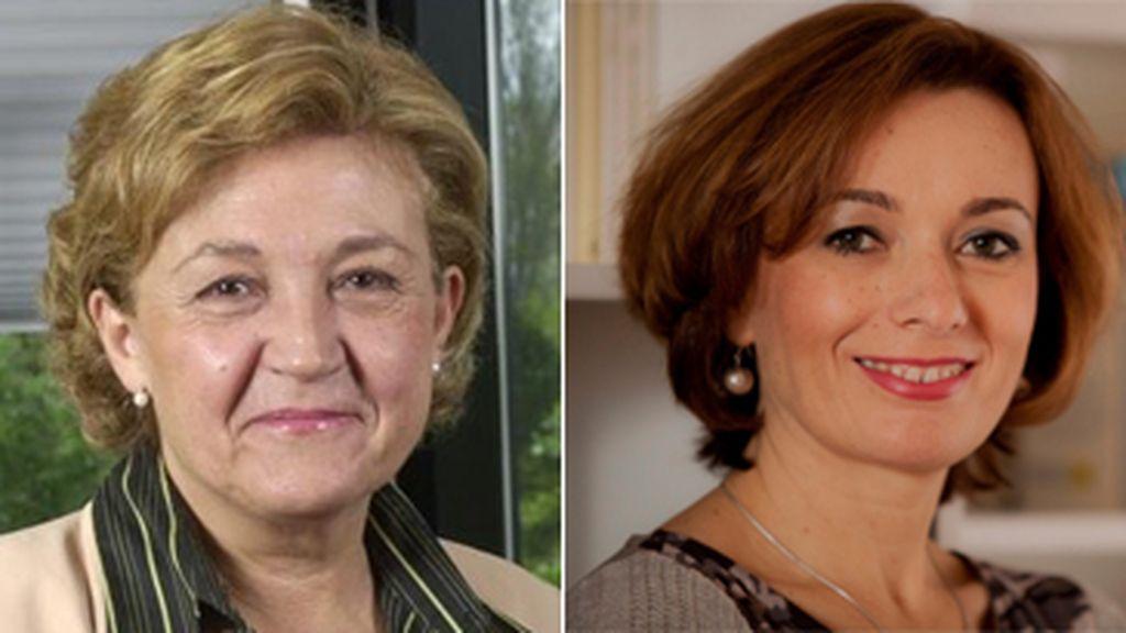 Carmen Caffarel y Mae Lozano