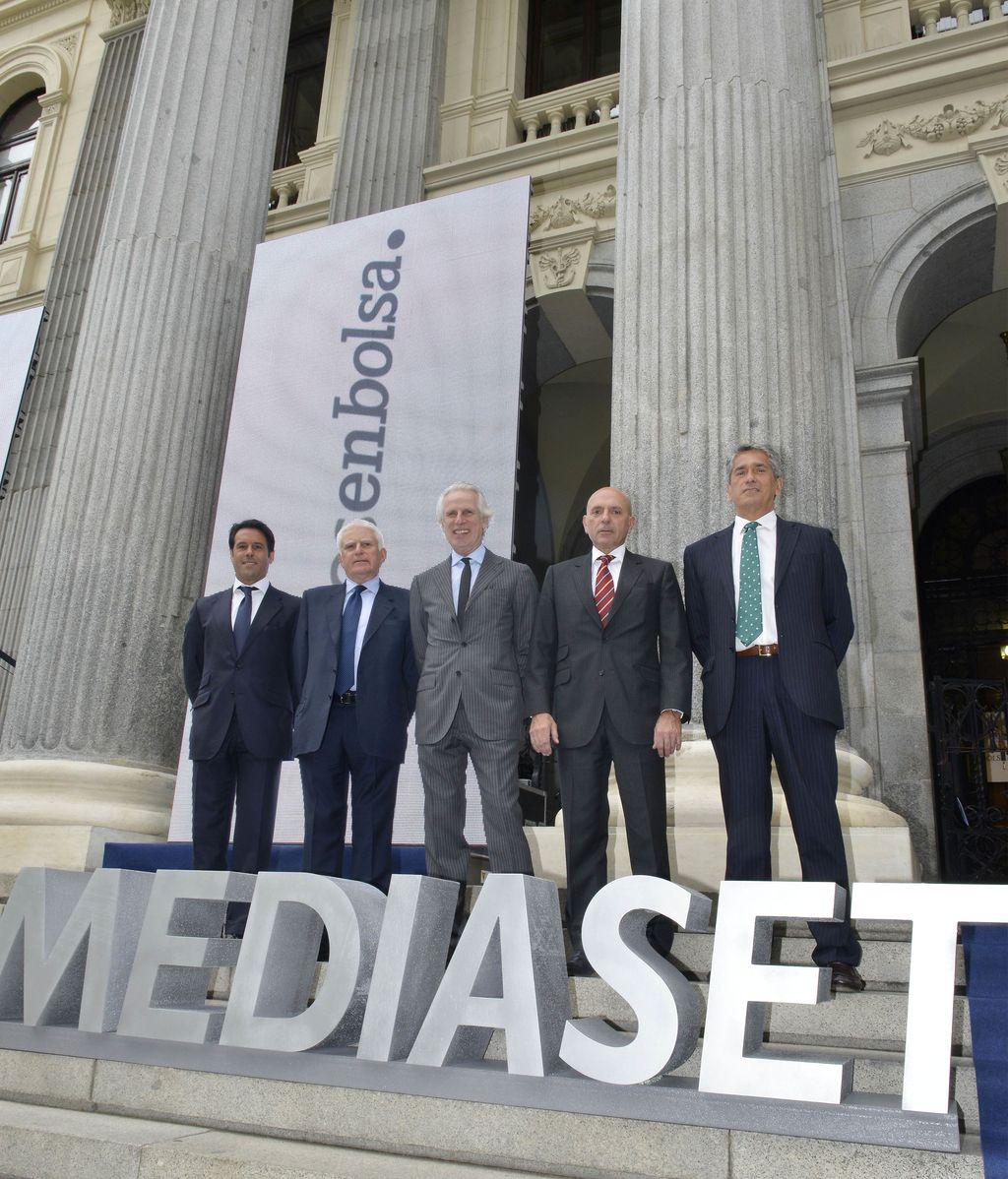 10 años en bolsa de Mediaset