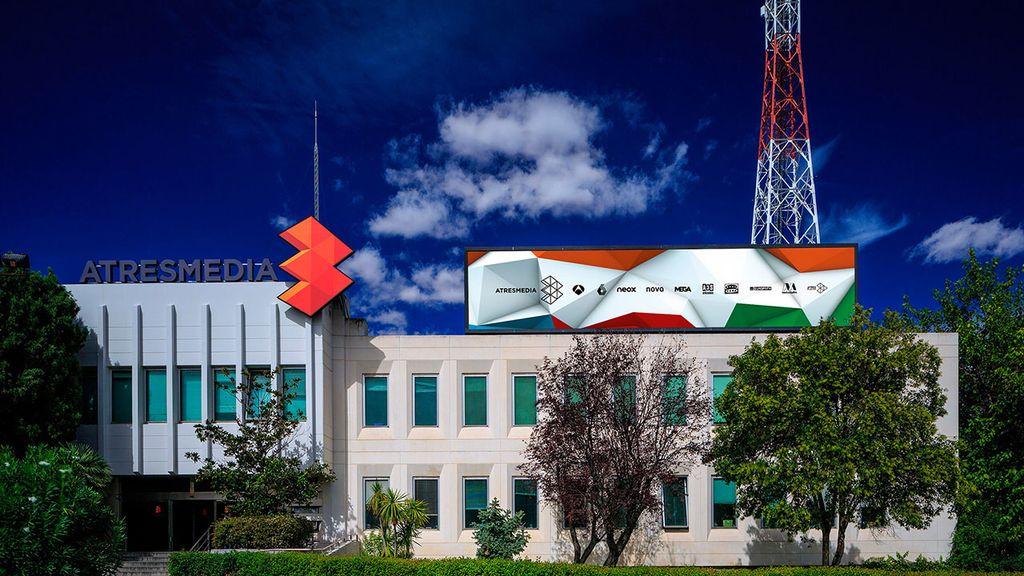Fachada del edificio de Atresmedia