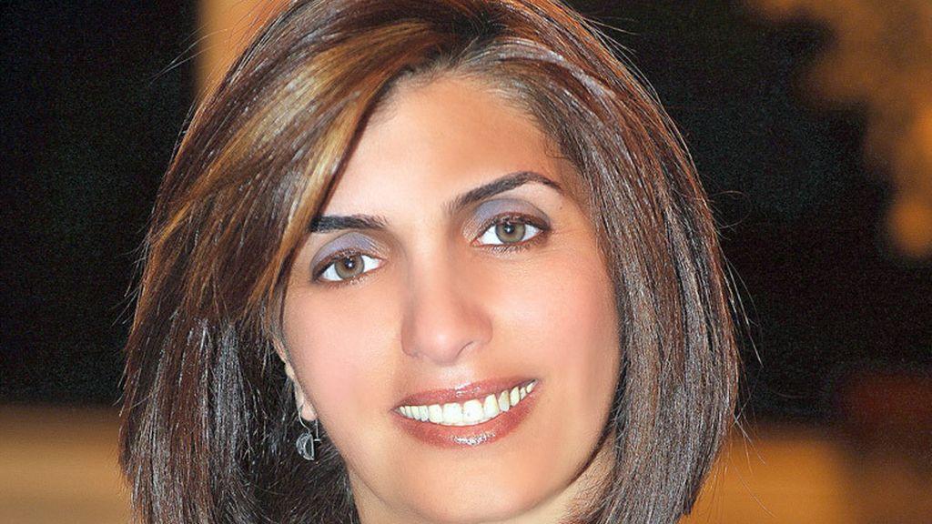 Lina Chawaf, directora de Radio Rozana