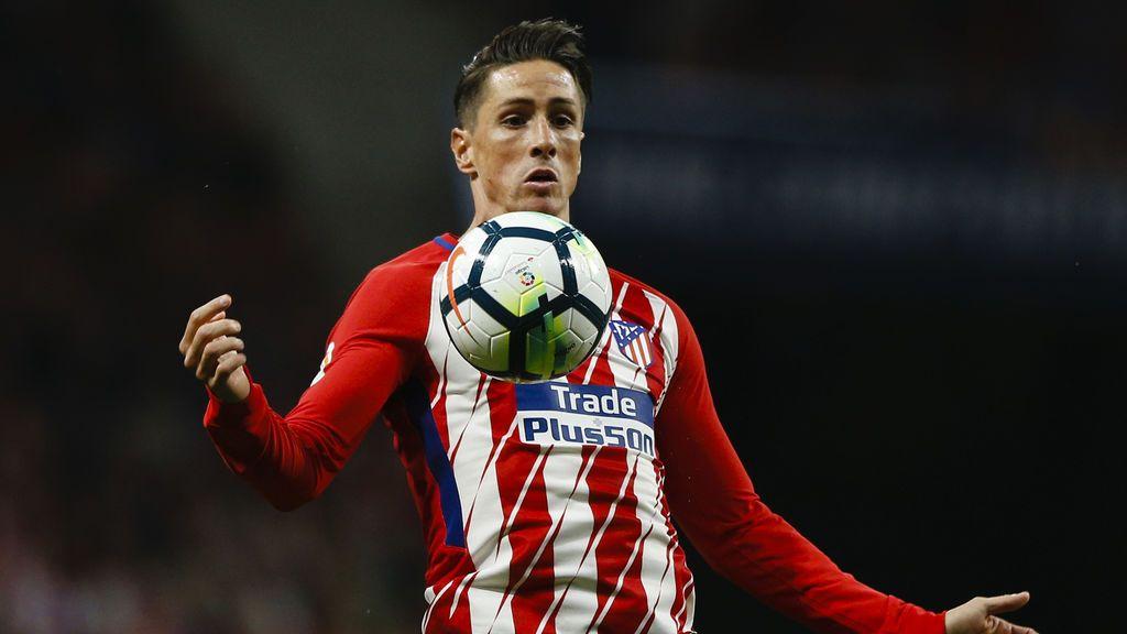 Fernando Torres, fuera de la convocatoria del Atlético por primera vez desde que llegó
