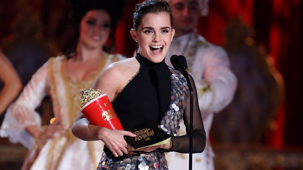Emma Watson, galardonada con la mejor interpretación en una película en los MTV Movie & TV Awards