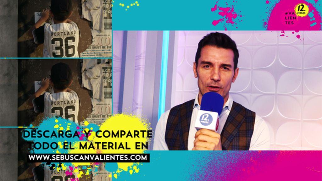 "Jesús Vázquez te anima a ser #valiente porque ""tú eres importante"""