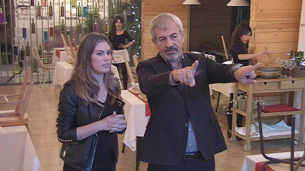 Sandra, candidata a camarera de 'First dates'