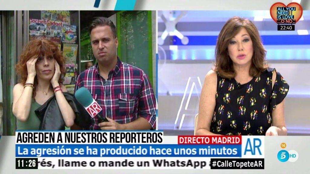 'El programa de Ana Rosa' - reporteros atacados en un conflicto vecinal calle Topete