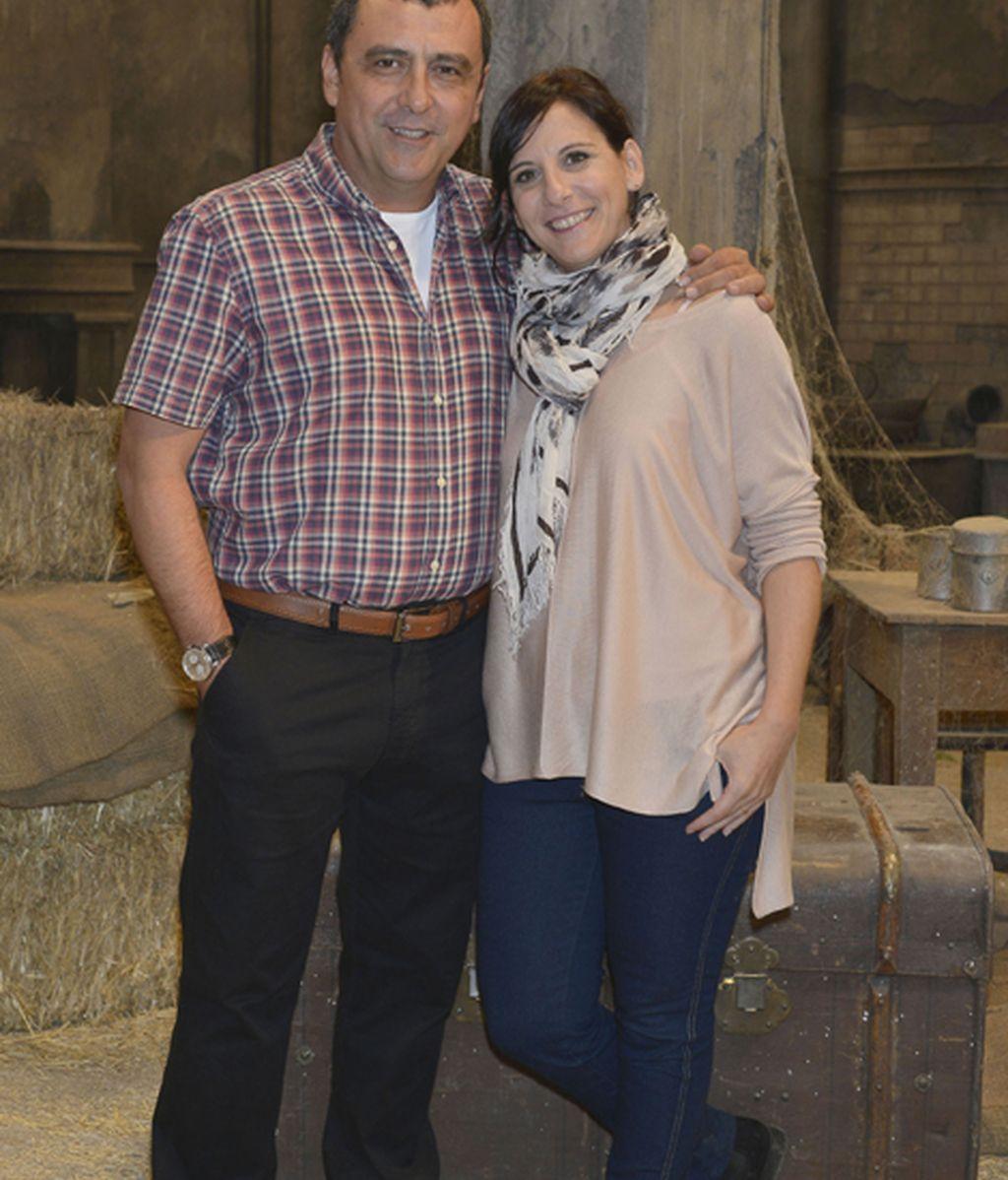 Paco Tous (Mario) y Malena Alterio (Silvia)