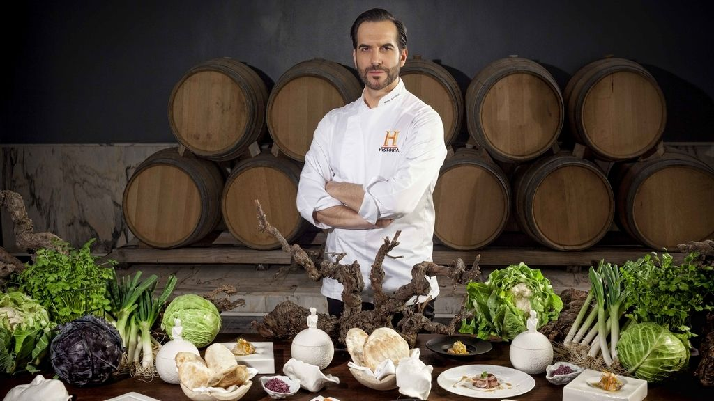 Mario Sandoval recrea 'La última cena' con técnicas de hace 2.000 años