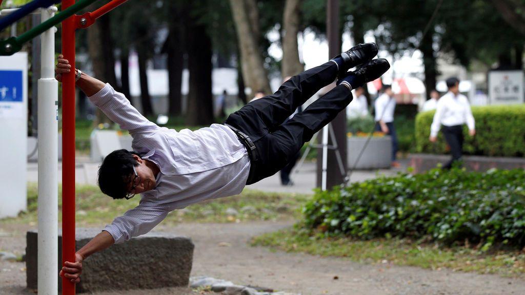 Cualquier momento es bueno para hacer ejercicio en Tokio
