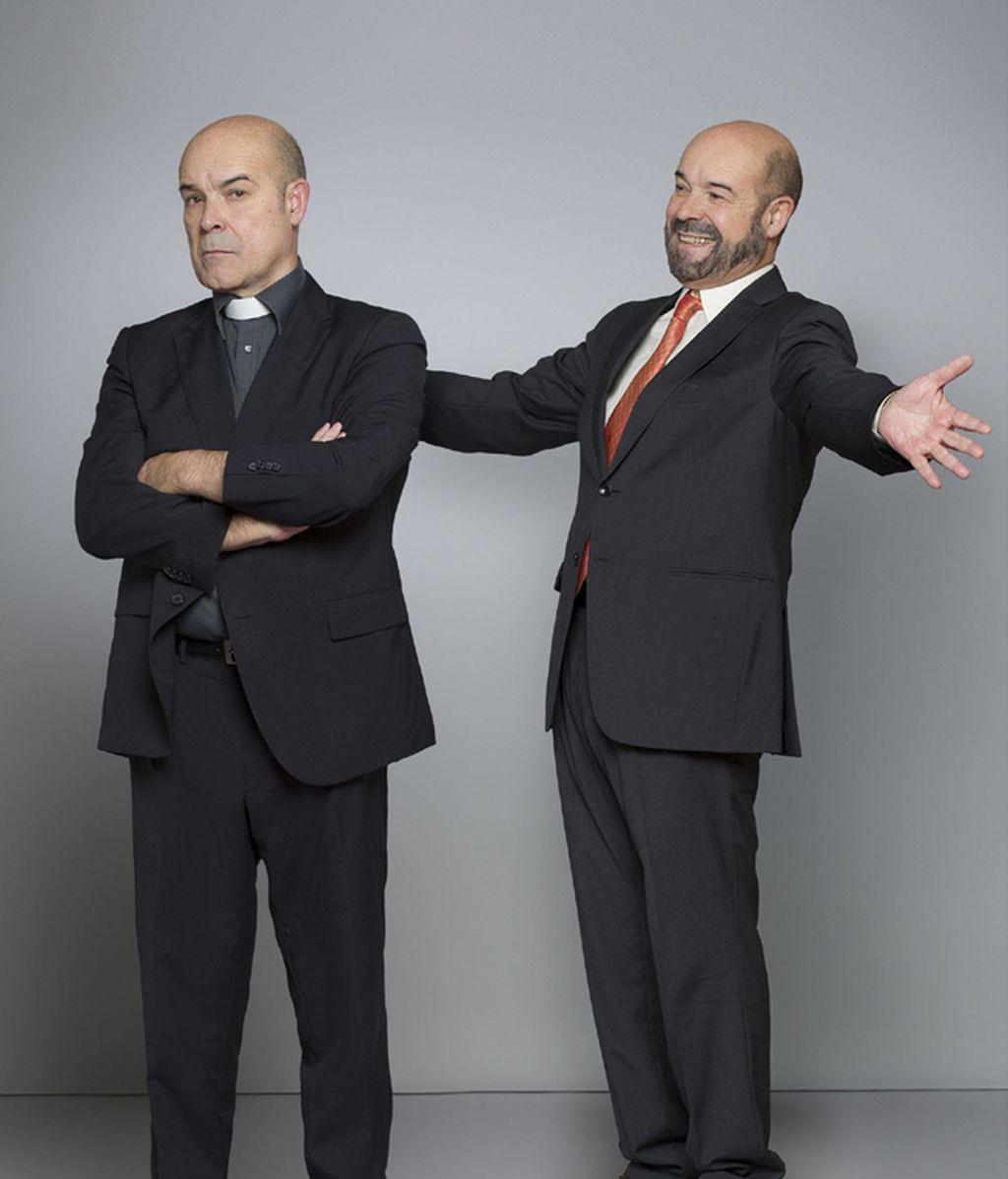 Antonio Resines es Paco y Ángel