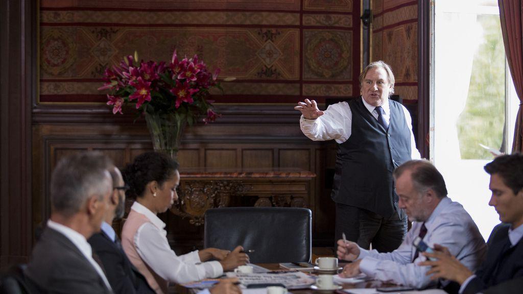 Gérard Depardieu, traicionado por su 'espantapájaros' en 'Marseille'