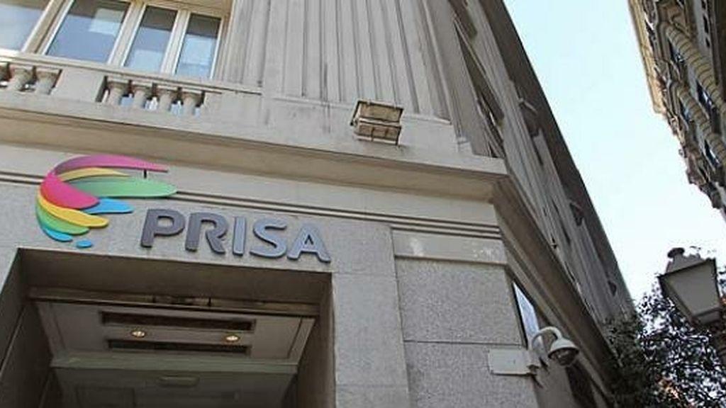Fachada grupo Prisa Madrid