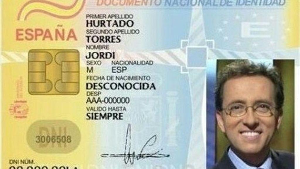 DNI broma Jordi Hurtado