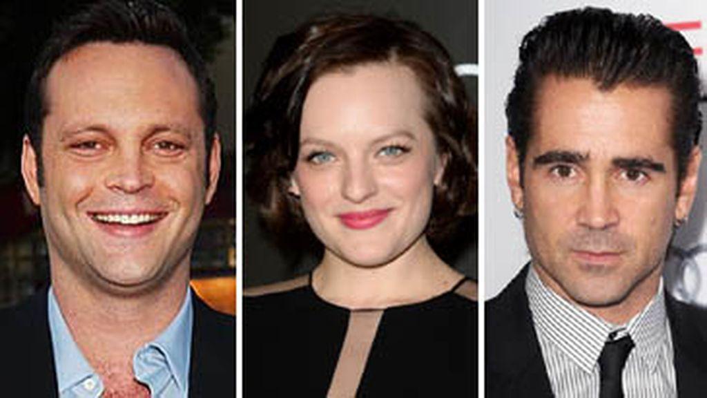Vince Vaughn, Elisabeth Moss y Colin Farrell en 'True detective'