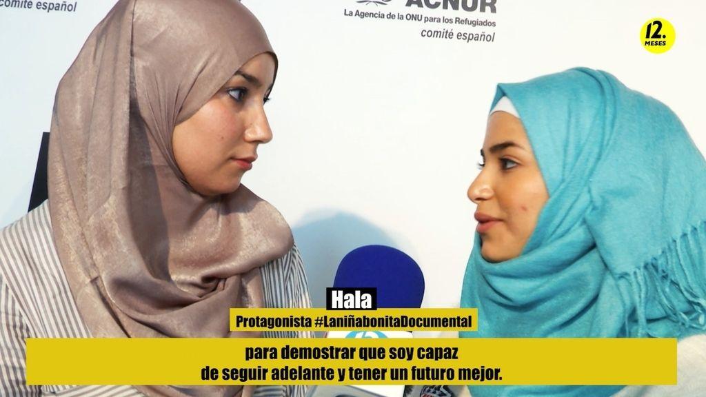 """Hala, protagonista de 'La niña bonita': """"Soy refugiada, pero soy una persona normal"""""""