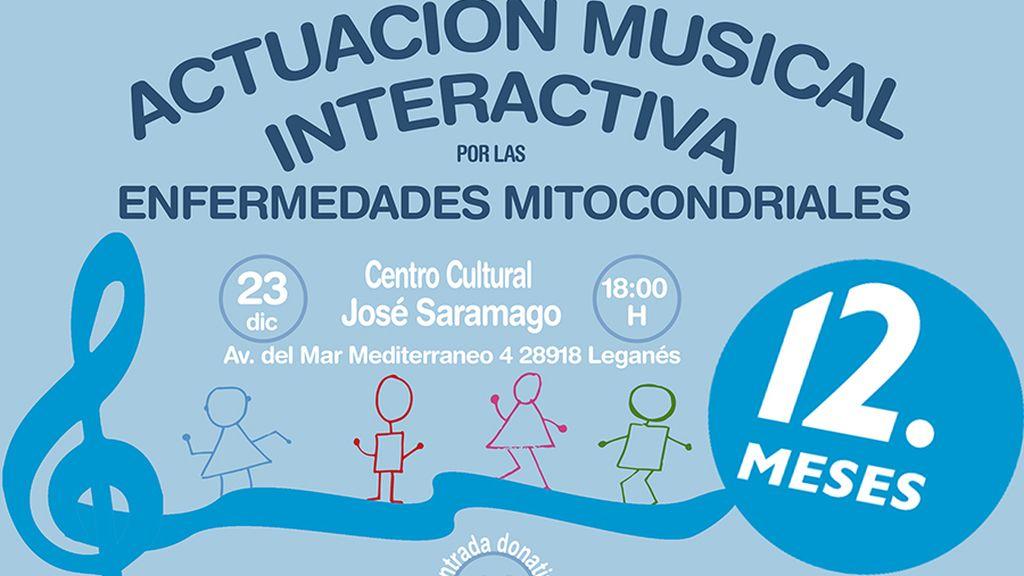 actuación musical interactiva