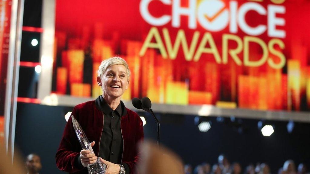 Ellen DeGeneres en los People Choice Awards 2017