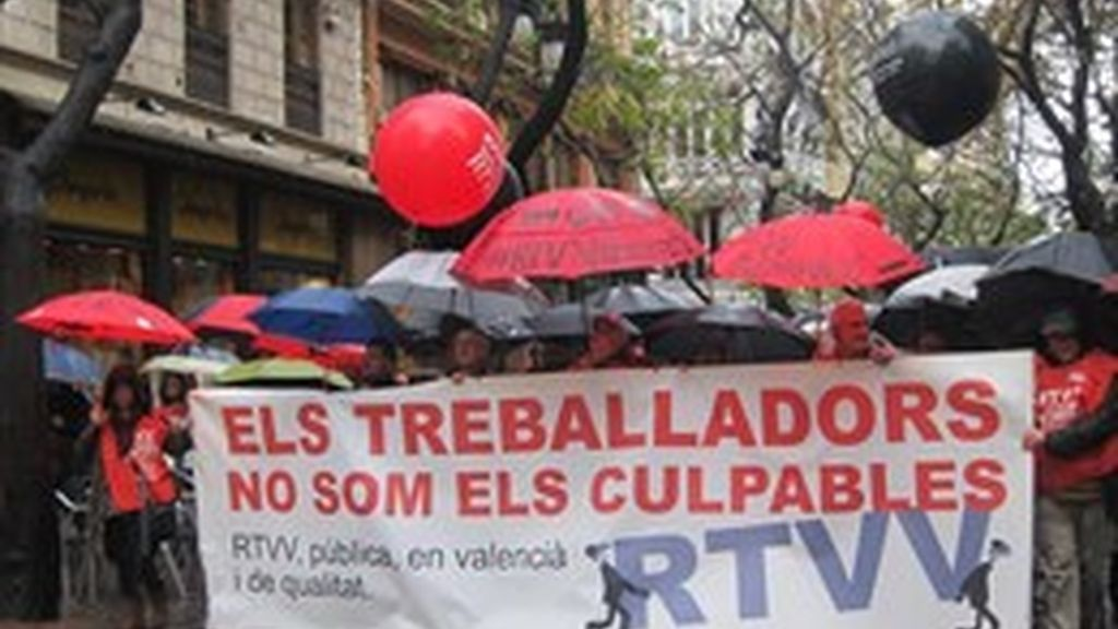 RTVV manifestación