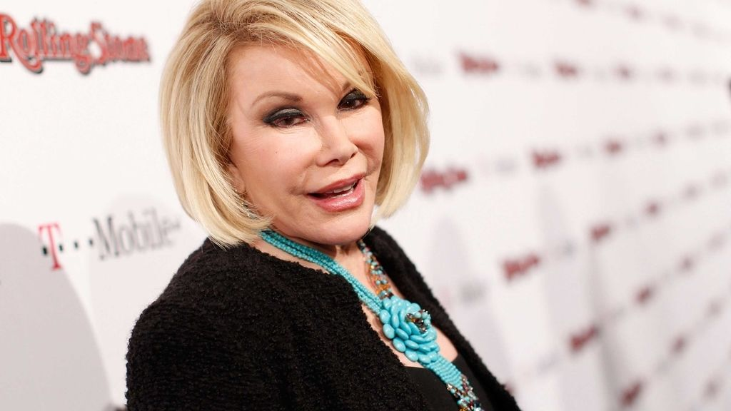 Joan Rivers, operada
