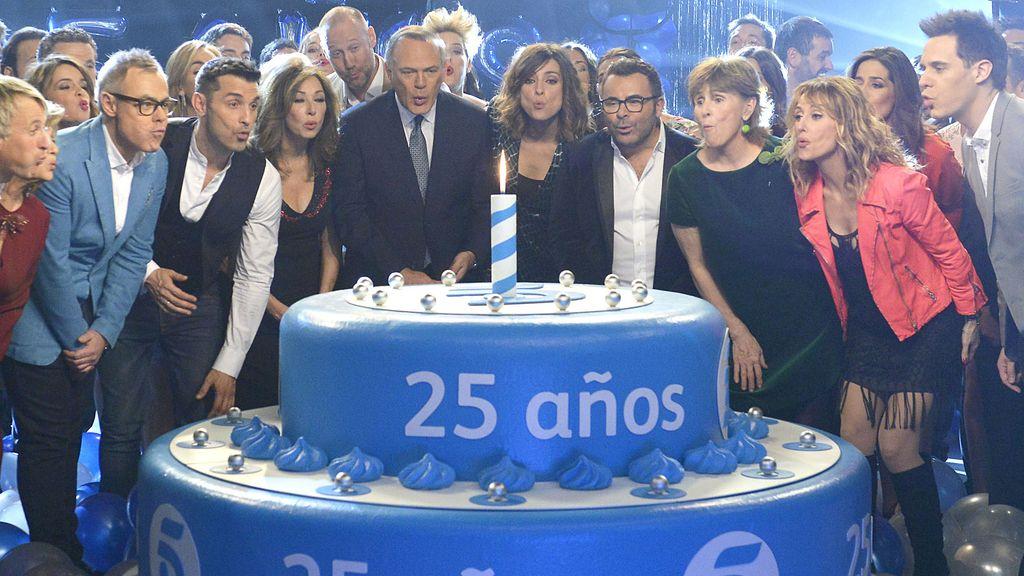 Mediaset España marca la diferencia: 31,3% de 'share'