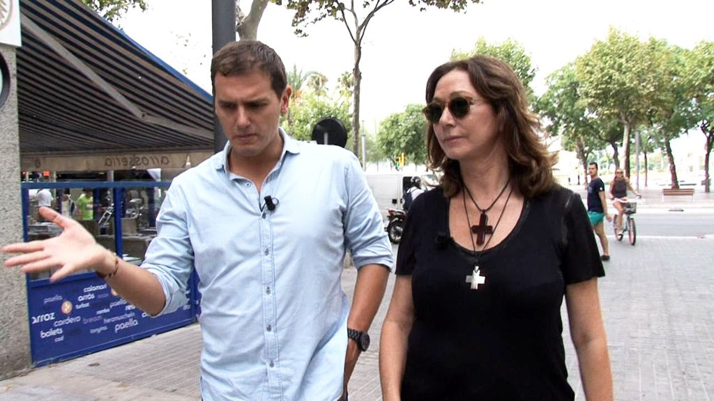 Ana Rosa y Albert Rivera