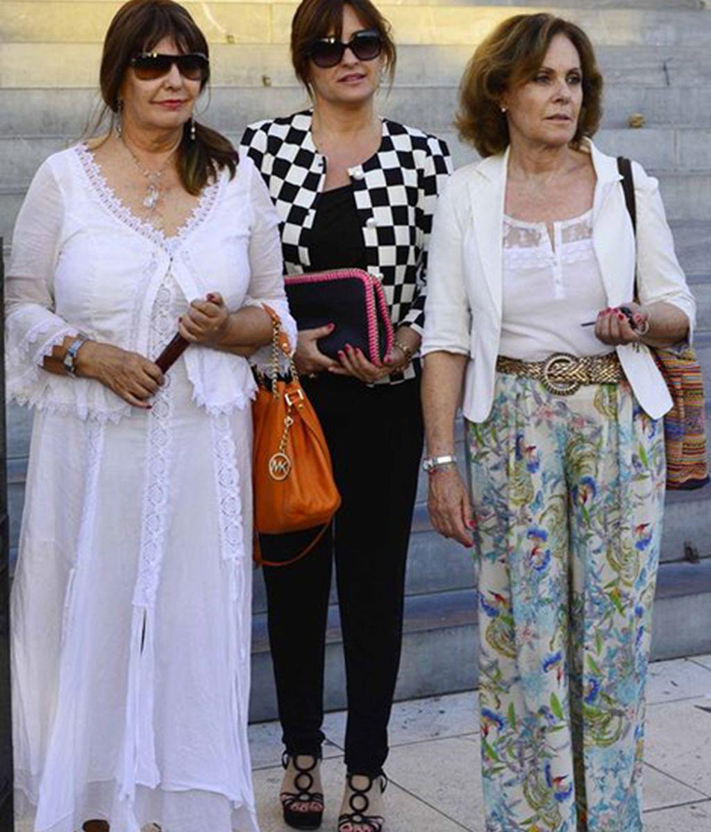 Esperanza Gracia, Beatriz Cortázar y Paloma Barrientos
