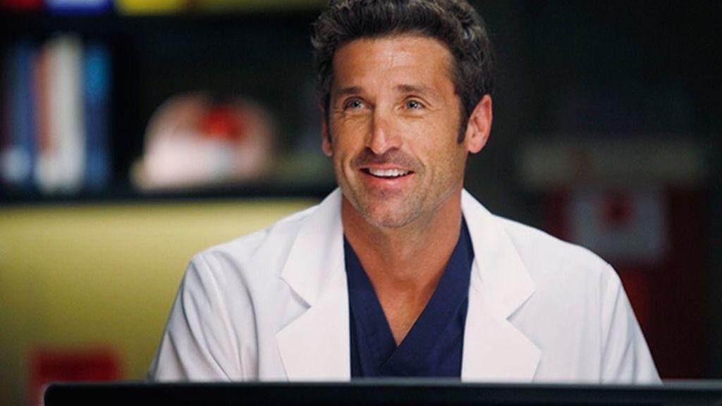 Patrick Dempsey (Derek Shepherd), en una escena de 'Anatomía de Grey'