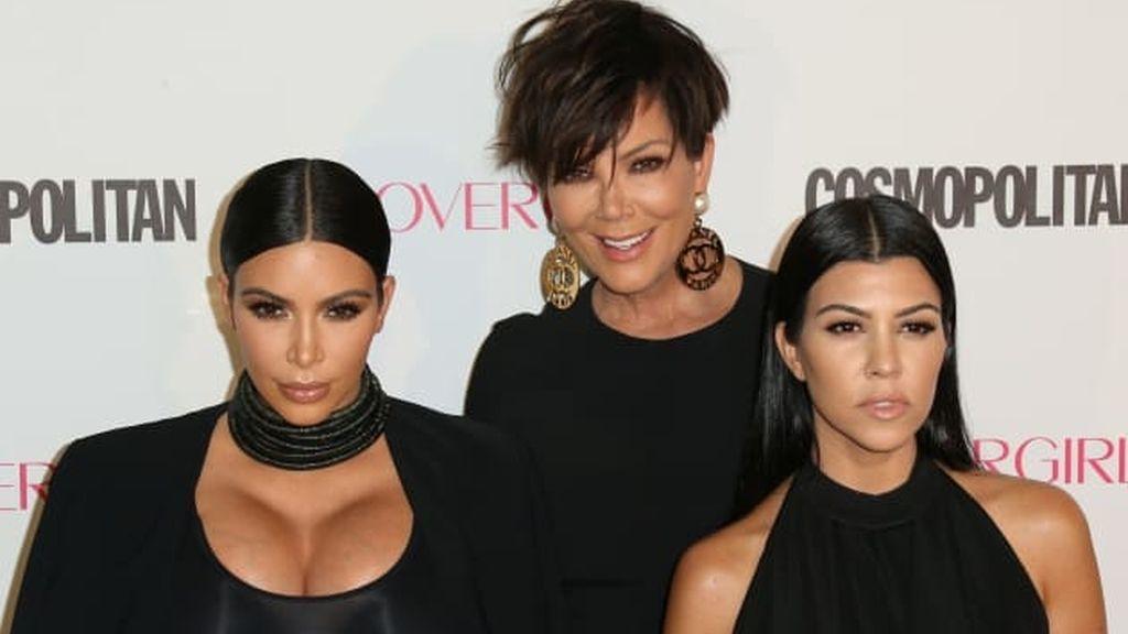 Kim Kardashian, Kris Jenner y Kourtney Kardashian