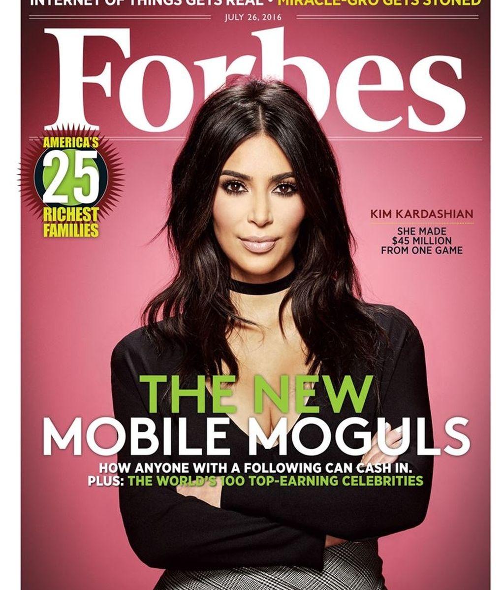 Kim kardashian Forbes