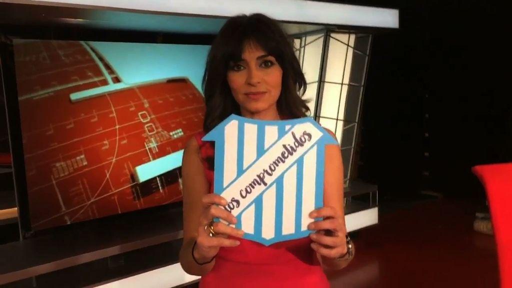 Marta Fernández te anima a comprometerte y sumarte a 'Los Comprometidos'.
