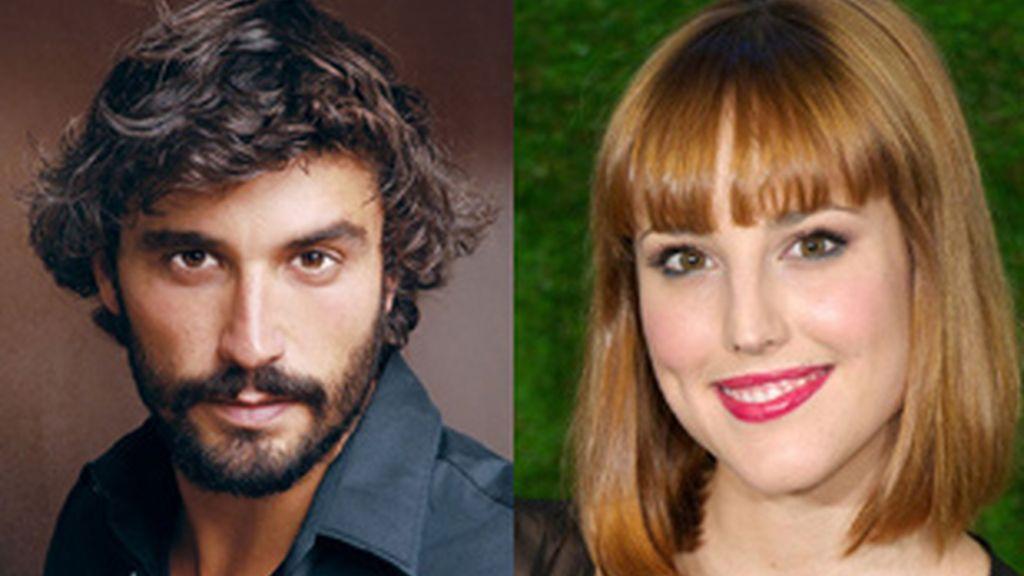 Alex García y Natalia de Molina