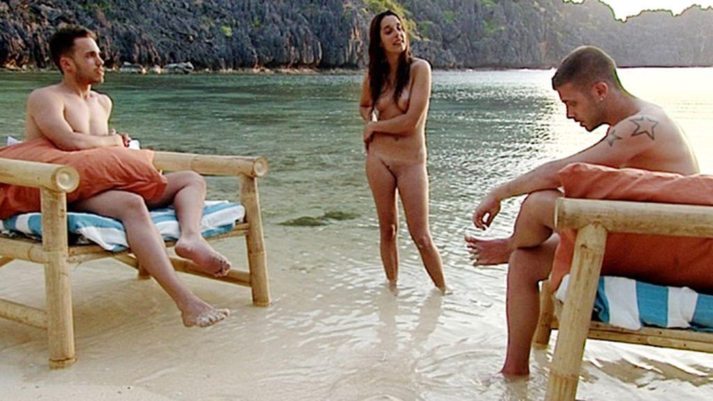 Un amor virtual, tercero en discordia en 'Adán y Eva'