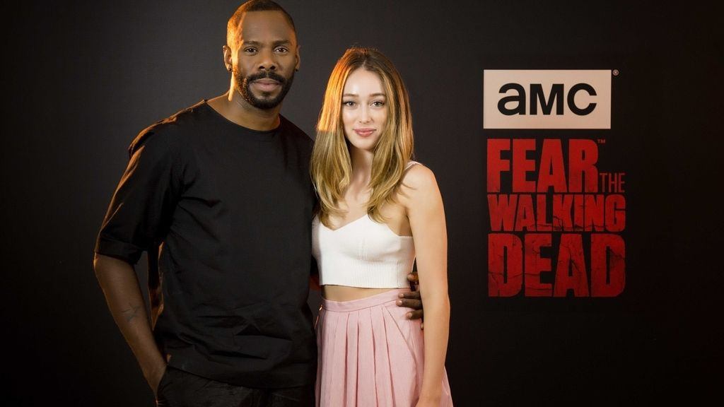 Alicya Debnam y Colman Domingo, Fear the walking dead