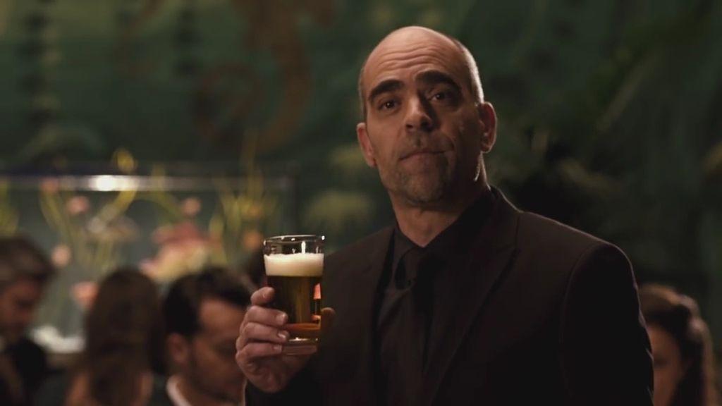 Poca broma con Luis Tosar si hay que hablar de cerveza