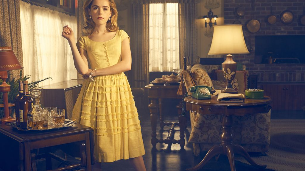 Kiernan Shipka es la hija de Bette Davis en 'Feud', de HBO