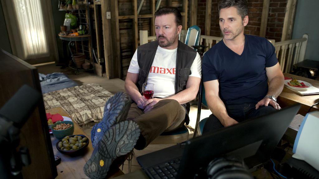 Ricky Gervais y Eric Bana hacen la guerra desde casa en 'Special correspondents'