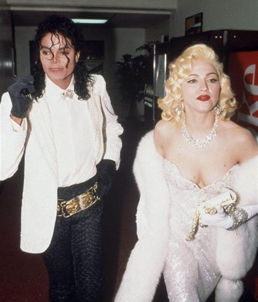 Madonna con Michael Jackson