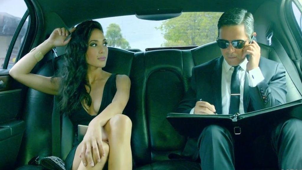 Ana Moya videoclip Alejandro Sanz