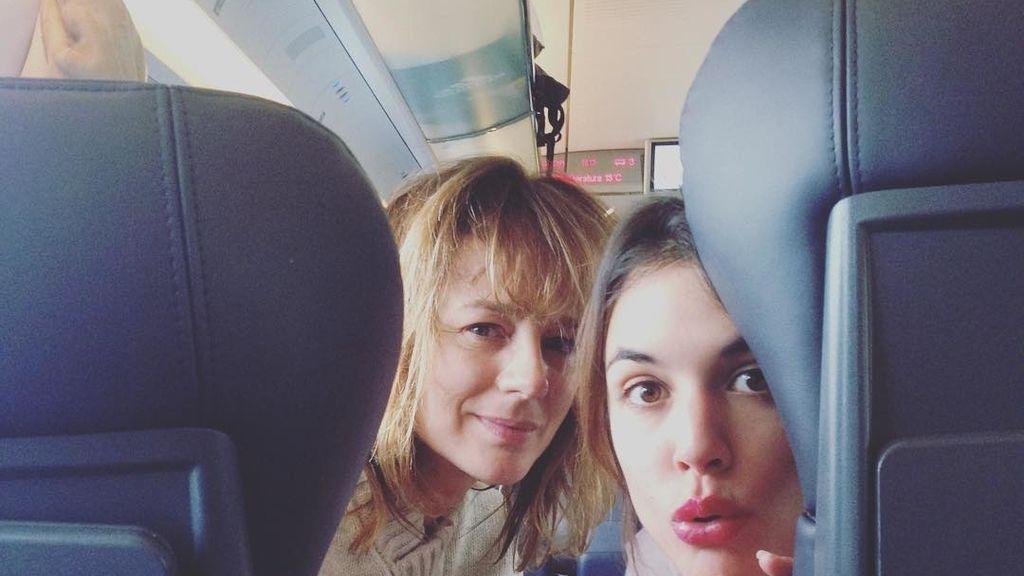 Adriana Ugarte y Emma Suárez.